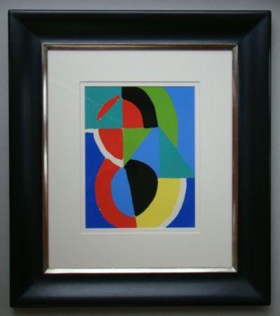 Pochoir Delaunay - Rythme couleurs
