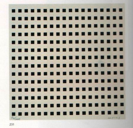 Serigrafía Nemours - Rythme du millimètre