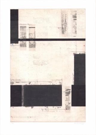 Litografía Brinkmann - Série Barcelone V