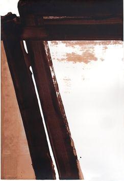 Serigrafía Soulages - Sérigraphie 15