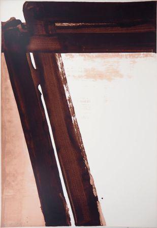 Serigrafía Soulages - Sérigraphie n°15