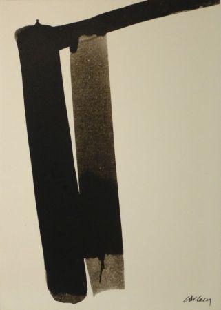 Serigrafía Soulages - Sérigraphie no 13