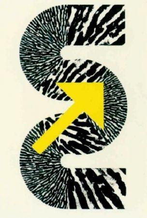 Litografía Sugai - S (Flèche jaune)