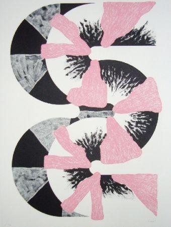 Litografía Sugai - S (Rose)