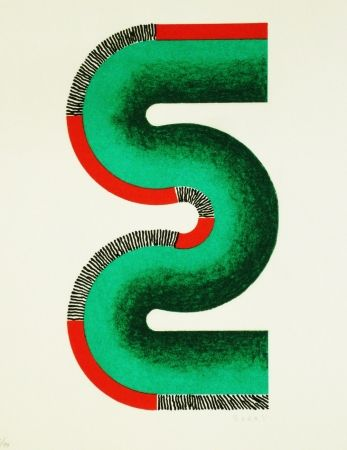 Litografía Sugai - S (vert)