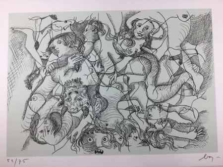 Aguafuerte Baj - Sade in Italy - complete folder ( 8 erotic etchings )