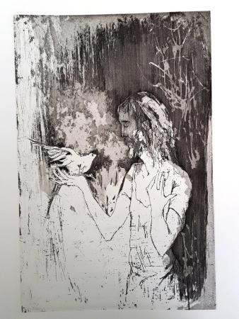 Litografía Jansem - Saint