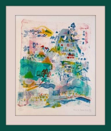 Litografía Hasegawa - Saint-Nazaire