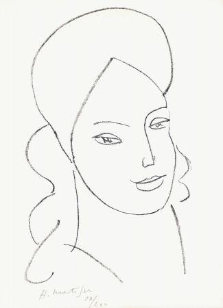 Litografía Matisse - Saint Catherine, 1946