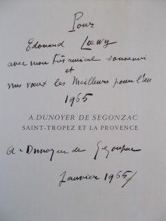 Grabado De Segonzac - Saint Tropez et la provence