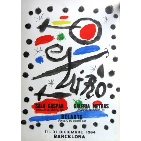 Cartel Miró - Sala Gaspar - Metras - Belarte