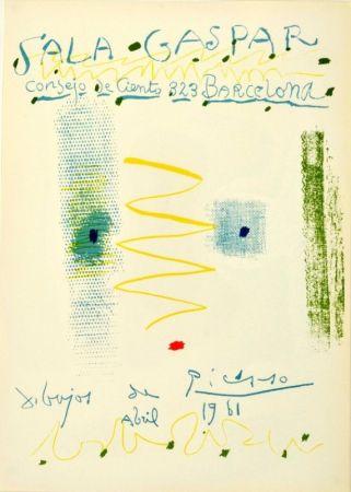 Litografía Picasso - Sala Gaspar. Dibujos de Picasso