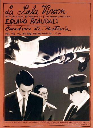 Cartel Equipo Realidad - Sala Vinçon - 1973
