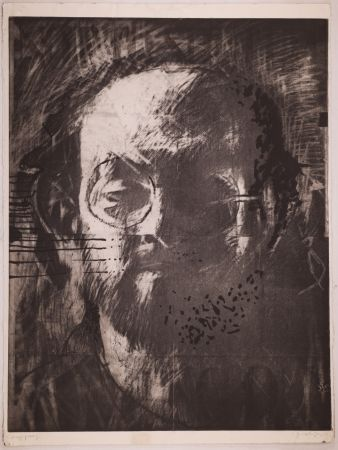 Litografía Phillips - Salman Rushdie