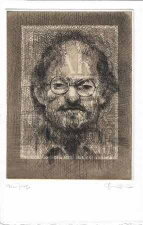 Aguafuerte Y Aguatinta Phillips - Salman Rushdie