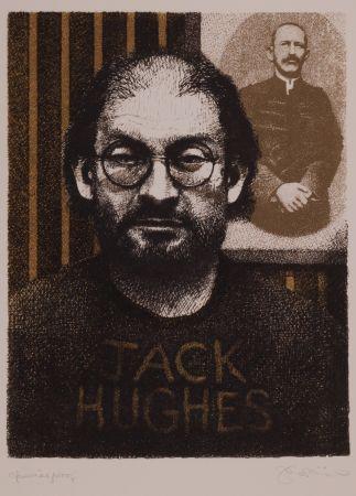 Litografía Phillips - Salman Rushdie as DIY Zola