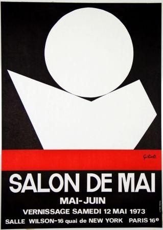 Litografía Gilioli - Salon de Mai