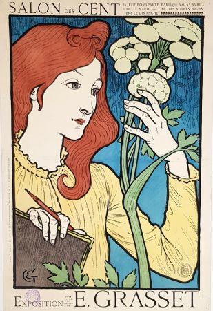 Litografía Grasset - Salon Des Cents