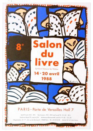 Cartel Alechinsky - Salon du Livre