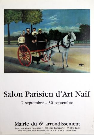 Offset Rousseau - Salon Parisien D'Art Naîf