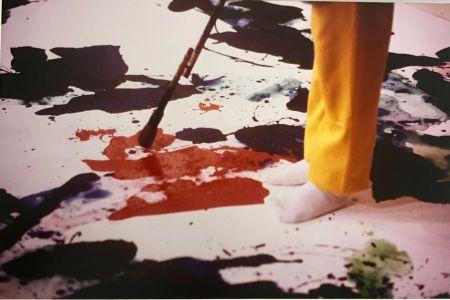 Fotografía Blum - Sam Francis painting