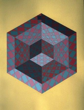 Serigrafía Vasarely - SANCTON