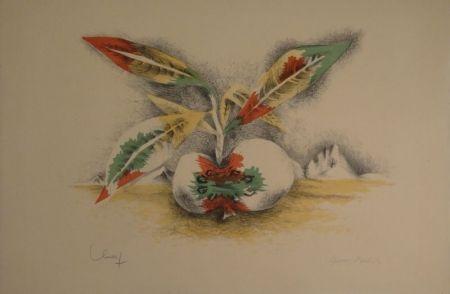 Litografía Lurcat - Sang et Vie