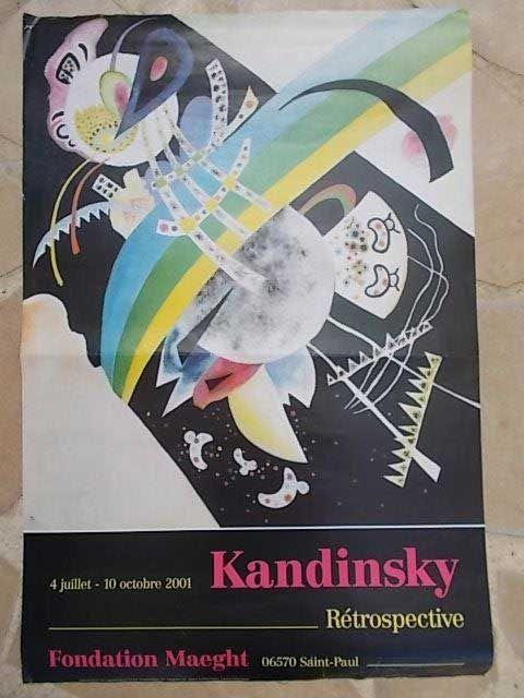 Cartel Kandinsky - Sans