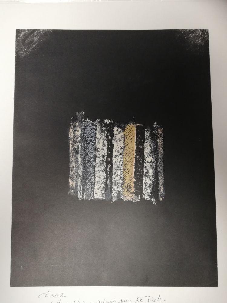 Litografía Cesar - Sans titre