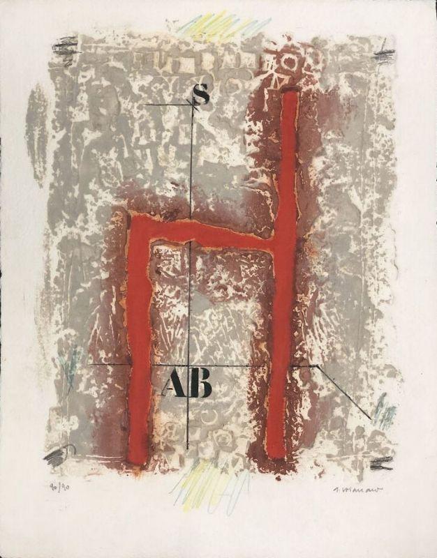 Aguatinta Coignard - Sans titre