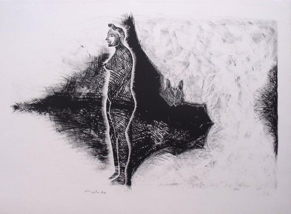 Litografía Toledo - Sans Titre