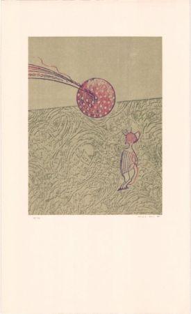 Litografía Ernst - Sans titre