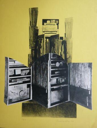 Serigrafía Nevelson - Sans titre