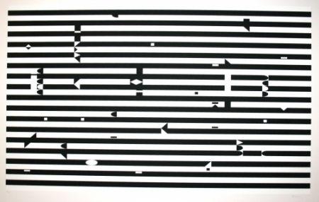 Serigrafía Agam - SANS TITRE