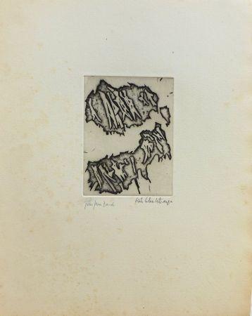 Grabado Celan Lestrange - Sans titre