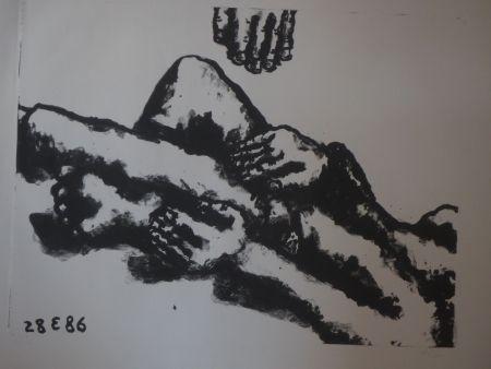 Litografía Blais - Sans titre