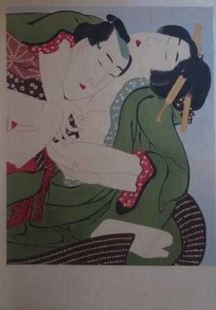 Litografía Utamaro - Sans titre