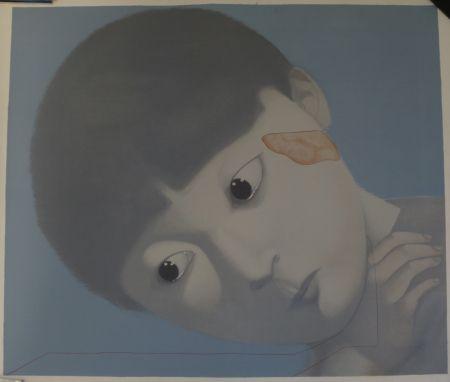 Litografía Xiaogang - Sans titre
