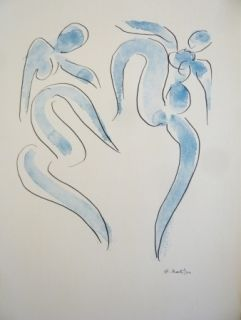 Litografía Matisse - Sans titre