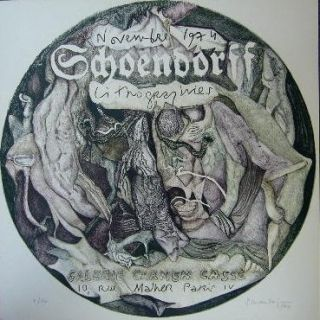 Litografía Schoendorff - Sans titre