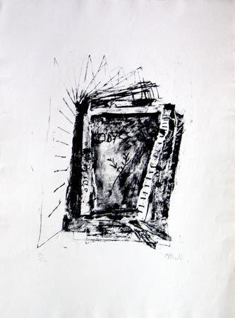 Litografía Barcelo - Sans Titre