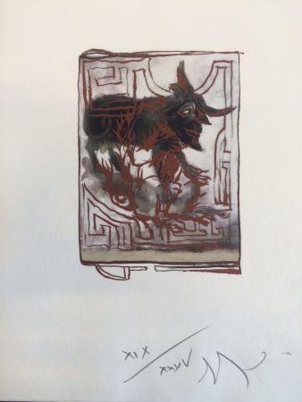 Estampa Numérica Garouste - Sans titre