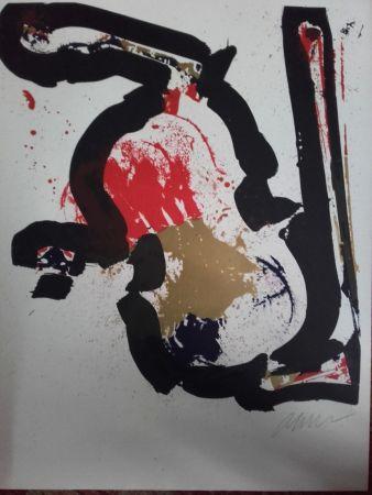 Litografía Arman - Sans Titre