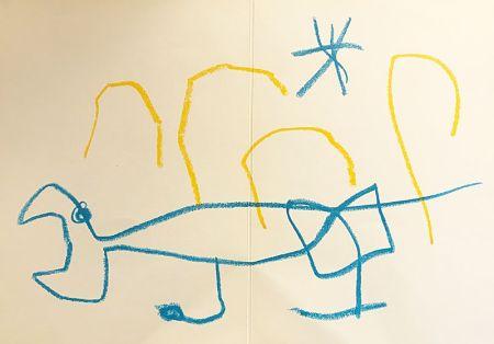 Litografía Miró (After) - Sans titre
