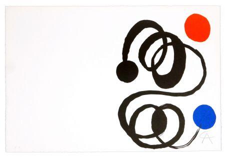 Litografía Calder - Sans titre