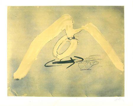 Litografía Tàpies - Sans titre