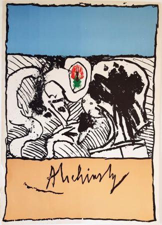 Litografía Alechinsky - Sans Titre