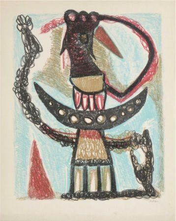 Litografía Atlan - Sans titre, 1953
