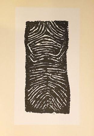 Litografía Ubac - Sans titre (1971)