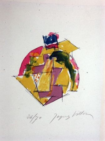 Litografía Villon - Sans titre 2